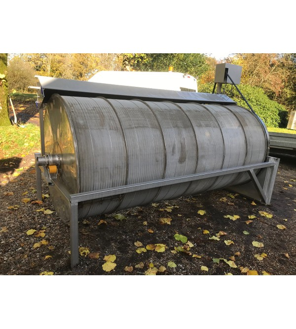 Stainless Steel Drum Filter, 300L/S